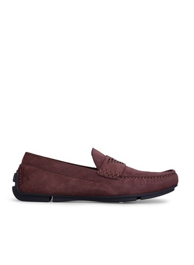 Emporio Armani Casual Ayakkabı Bordo